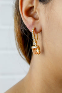 Golden Benares Earrings