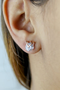 Valley Stud Earrings
