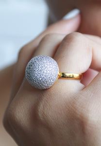 Aurosphere Statement Ring