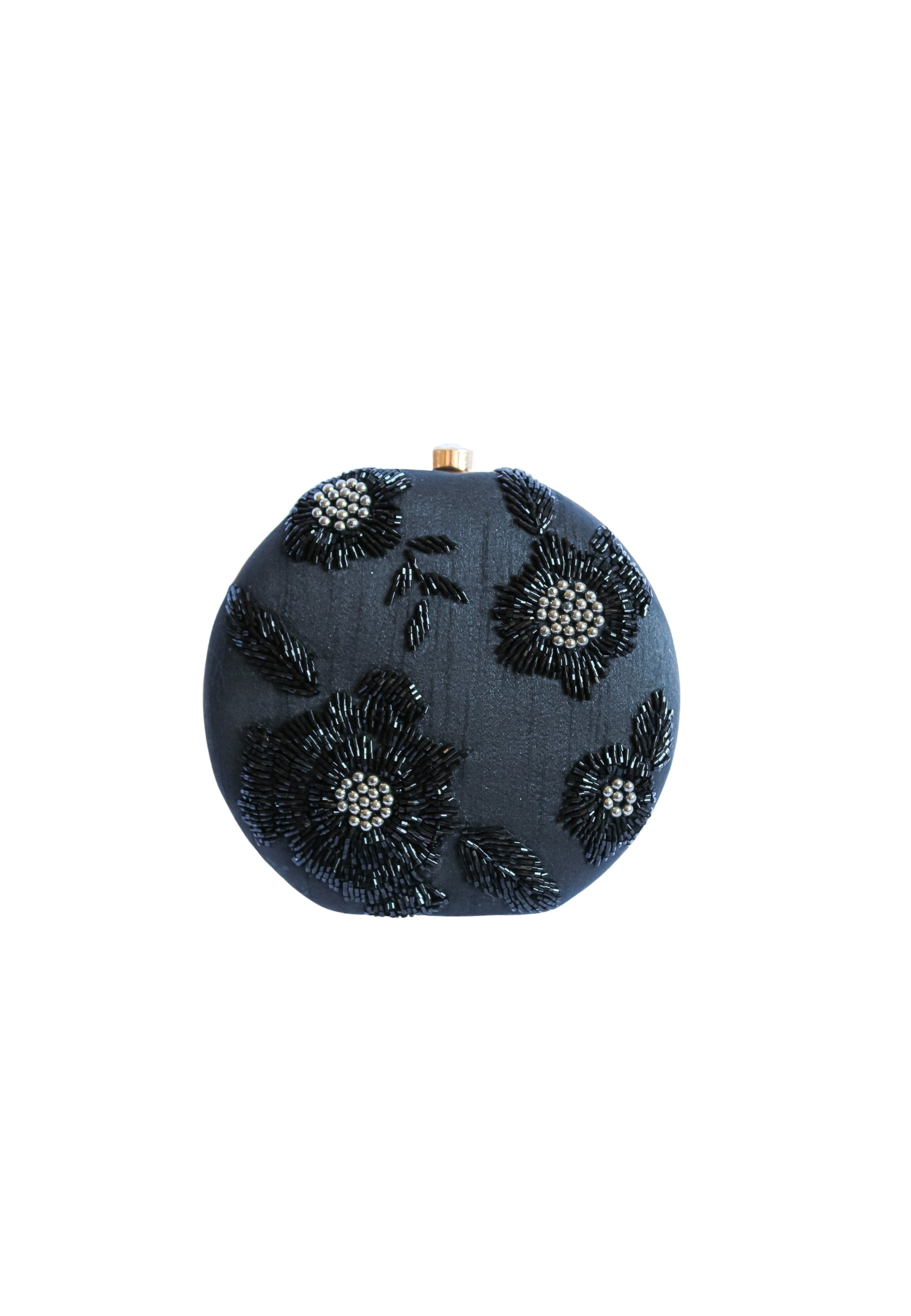 Benagil Black Clutch Bag