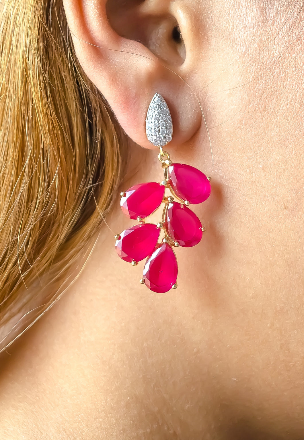 Haryana Grapes Earrings