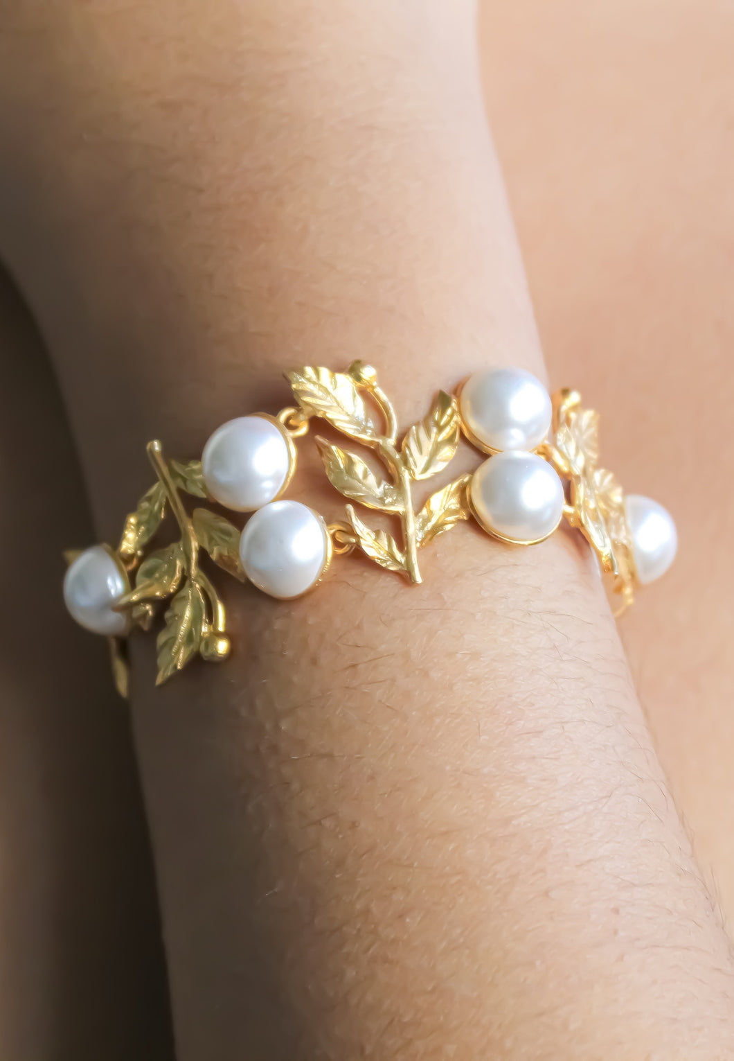 Golden Bracelet for Brides 2021