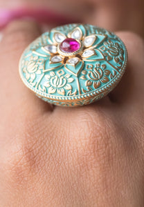 Royal Lily Ring
