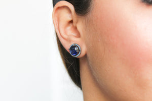 Maldives Stud Earrings - Below 50 Copper Stud