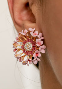 Vivid Daisy Earrings