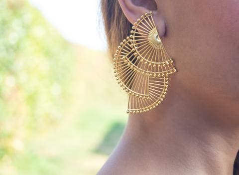 Triabanicho Earrings