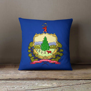 Vermont State Pillowcases