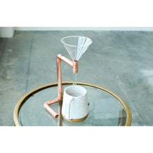 Load image into Gallery viewer, Copper Coffee Pour Over