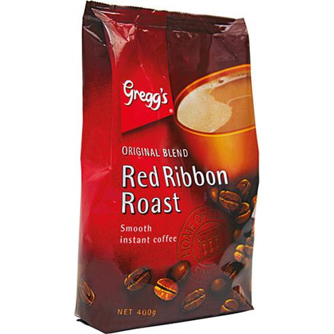 Gregg's Red Ribbon Roast Coffee Ref - 400g - Reinol NZ Ltd.