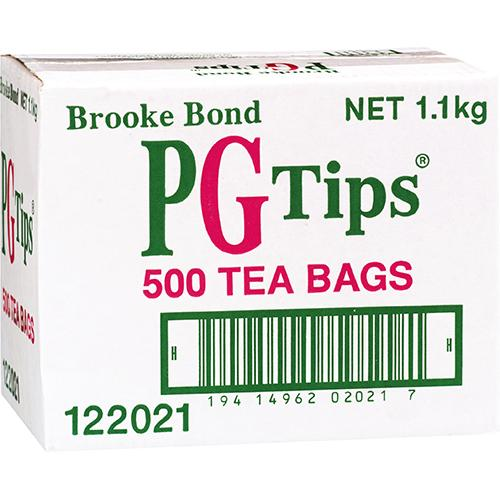 PG Tips Tea Bags 500EA - Reinol NZ Ltd.