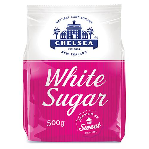 Chelsea White Sugar - 500g - Reinol NZ Ltd.
