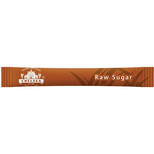 Chelsea Raw Sugar Sticks - 2000 x 3g - Reinol NZ Ltd.