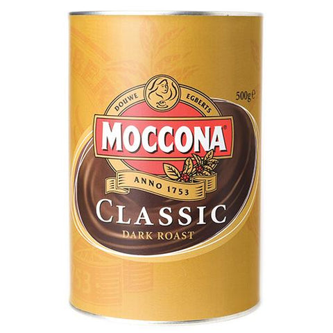 Moccona Classic Dark Coffee - 500g - Reinol NZ Ltd.