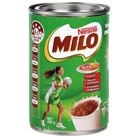 Nestle Milo Energy Food Drink - 200g - Reinol NZ Ltd.