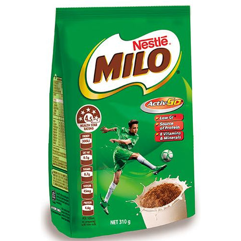 Nestle Milo Energy Food Drink - 310g - Reinol NZ Ltd.