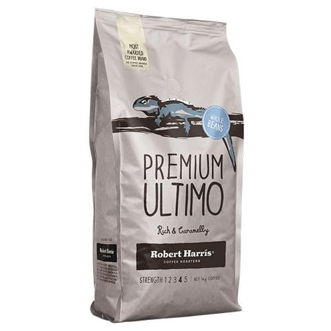 Robert harris Premium Ultimo Coffee Beans - 1Kg - Reinol NZ Ltd.