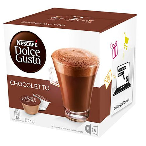 Nescafe Dolce Gusto Hot Chocolate Capsules 16 x 17g - Reinol NZ Ltd.