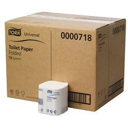 Tork T3 Interleaved Toilet Tissue-1 Ply- Carton of 36 - Reinol NZ Ltd.