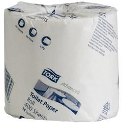 Tork T4 Adv Conv-Toilet Tissue Roll 0000234-400 Sht-2 Ply-Carton of 48 - Reinol NZ Ltd.