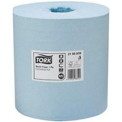 Tork M2 Comm Paper Towel 2198859- Blue-200mmx280m - Reinol NZ Ltd.
