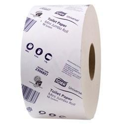 Tork T2 Uni Mini Jumbo Toilet Tissue 2306897-1 Ply-Carton of 12 - Reinol NZ Ltd.