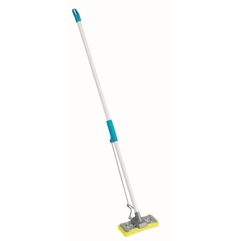 Raven Mop-a-matic Xpress Mop with Scrub Pad, Steel Hdl - Reinol NZ Ltd.