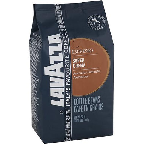 Lavazza Super Crema Coffee Beans - Reinol NZ Ltd.