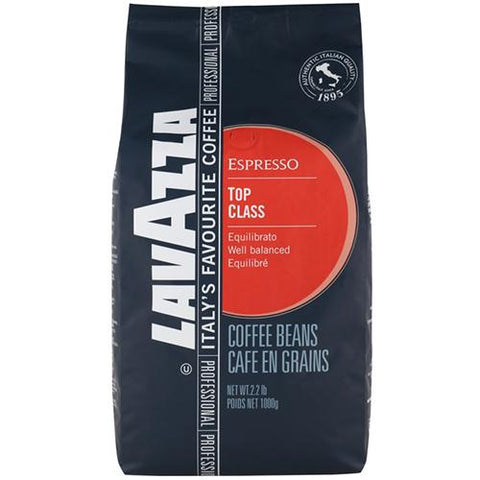 Lavazza Top Class Coffee Beans - 1kg - Reinol NZ Ltd.