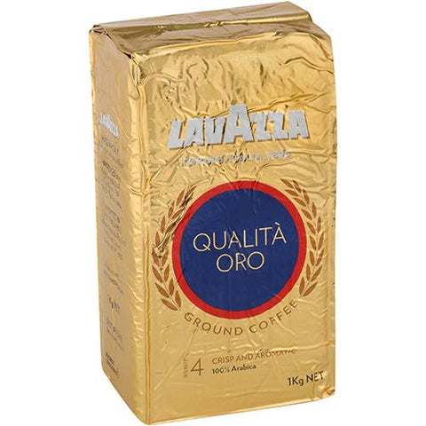 Lavazza Qualita Oro Ground Coffee - 1kg - Reinol NZ Ltd.