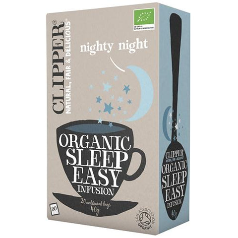 Clipper Organic Infusion Sleep Easy Tea Bags 20 EA - Reinol NZ Ltd.