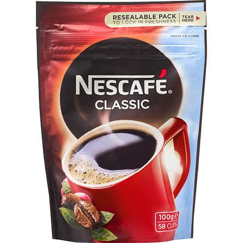 Nescafe Classic 100g - Reinol NZ Ltd.