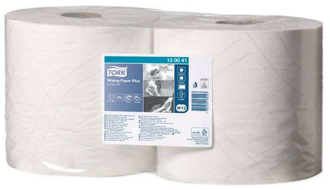 Tork Wiping Paper Plus - 2Ply 130041 - REINOL NZ LTD.