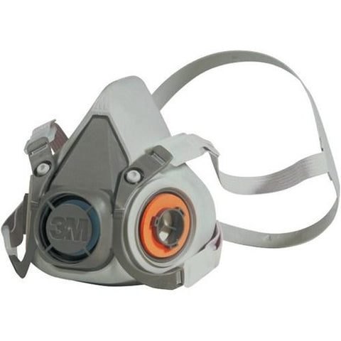 3M Half Face Mask Respirator 6200 - M - Reinol NZ Ltd.