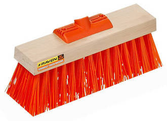 Raven Broom Yard Head Only Yard Broom Clear Fill 355mm Head Only - Reinol NZ Ltd.