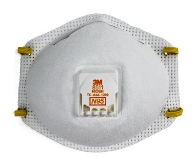 3M Particulate Cool flow Respirator 8511 - PB1-A-PS(pack of 10) - Reinol NZ Ltd.