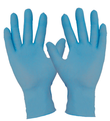 Nitrile Blue Disposable Glove - Powder Free - Reinol NZ Ltd.