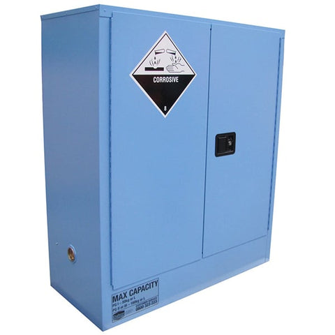 160L Corrosive Substance Cabinet, 2 Doors, 2 Shelves - Reinol NZ Ltd.