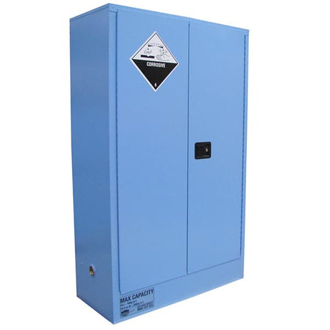 250L Corrosive Substance Cabinet, 2 Doors, 3 Shelves - Reinol NZ Ltd.