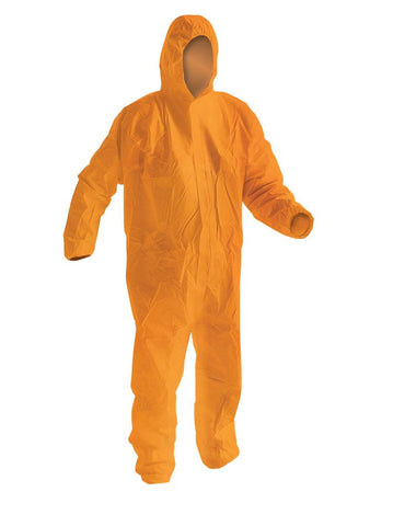 Armour Disposable Splashproof Coverall 60GSM - Orange - Reinol NZ Ltd.