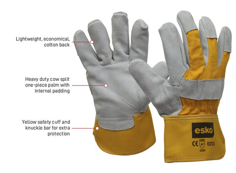Esko Handyman Rigger Glove - (one size fits all) - Reinol NZ LTD.