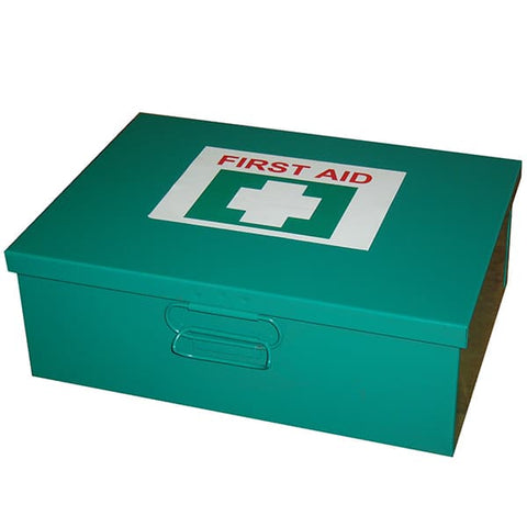6-25 Person First Aid Kit - Metal Box Wall Mountable - Reinol NZ Ltd.