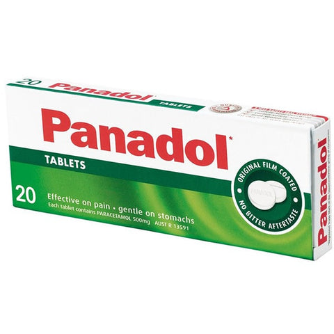 Panadol 20 Tablets - Reinol NZ Ltd.