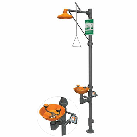 Safety Station with Eye/Face Wash – PVC - Reinol NZ Ltd.