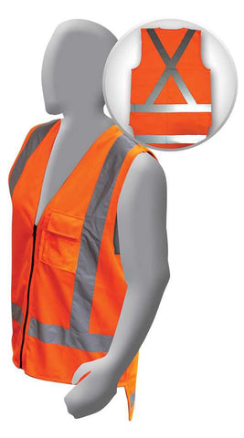 Armour Hi Vis TTMC-W Day / Night Vest - X Reflective Tape - Reinol NZ Ltd.