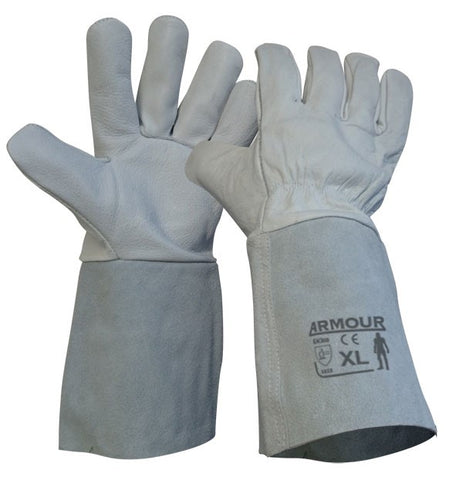 Armour Argon Welding Gauntlet Glove - 30cm - Reinol NZ Ltd.