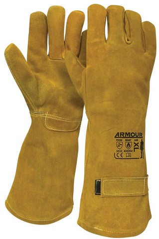 Armour Leather Smelter 500°C Glove - 45cm - Reinol NZ Ltd.