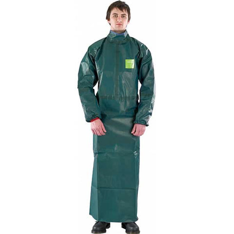 AlphaTec 4000 Apron with sleeves - Reinol NZ Ltd.