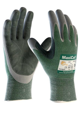 MaxiCut 3 Leather Palm Open Back - Reinol NZ Ltd.
