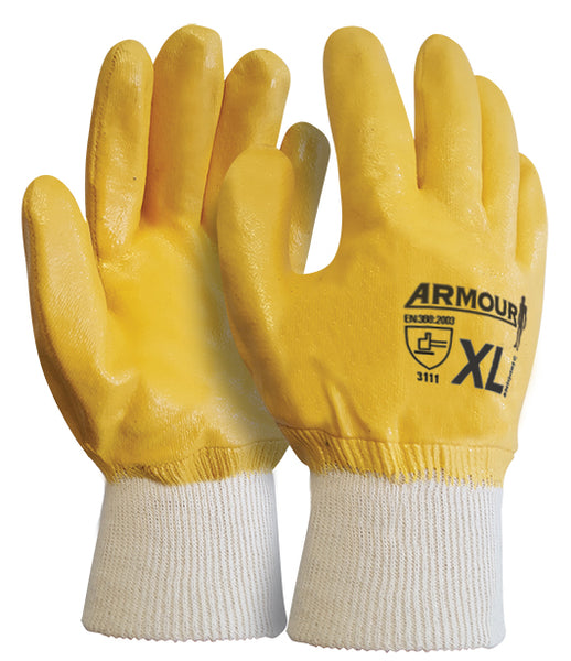 Armour Orange Nitrile Fully Coated Glove - Reinol NZ Ltd.