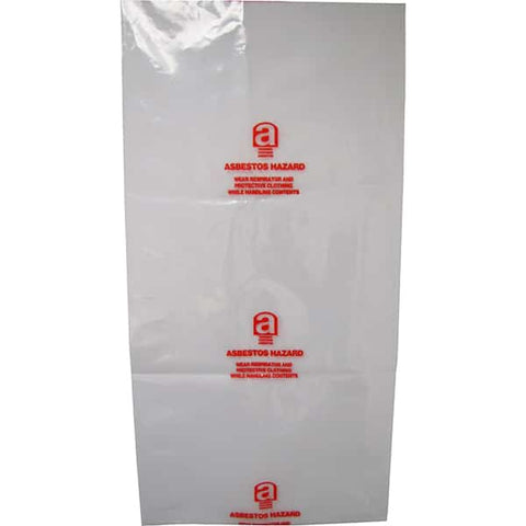 Printed Asbestos Bag 200mu 900mmx 1200mm, 200mu - Reinol NZ Ltd.